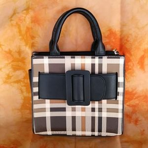 Plaid Bag Classic Style